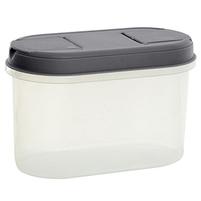 PLAST TEAM Pojemnik na żywność z dozownikiem 1,1L szary