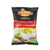 WIODĄCA MARKA Chipsy ziemniaczane o smaku chili i limonki