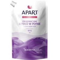 APART Floral Care Pielęgnacyjne mydło w płynie Irys + gliceryna (zapas)