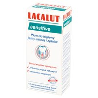LACALUT Sensitive Płyn do higieny jamy ustnej i zębów