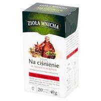 BIG-ACTIVE Zioła Mnicha Na ciśnienie Herbatka ziołowo-owocowa (20 tb.)