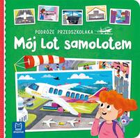 AKSJOMAT Mój lot samolotem. Podróże przedszkolaka (okładka twarda)