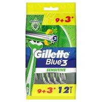GILLETTE Blue3 Jednorazowe maszynki do golenia dla mężczyzn