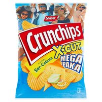 CRUNCHIPS X-Cut Chipsy ziemniaczane o smaku ser-cebula