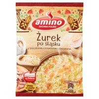 AMINO Zupa błyskawiczna żurek po śląsku z boczkiem czosnkiem i chrzanem