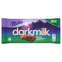 MILKA Darkmilk Czekolada mleczna Almond