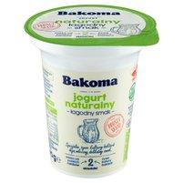 BAKOMA Jogurt naturalny łagodny smak bez dodatku cukru