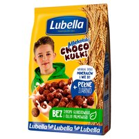 LUBELLA Mlekołaki Kulki Choco Zbożowe chrupki o smaku czekoladowym