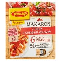 WINIARY Pomysł na... Makaron z sosem z czerwonymi warzywami