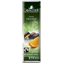 CAVALIER Baton z nadzieniem pomarańczowym bez dodatku cukru