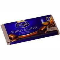 BAŁTYK Czekolada z nadzieniem o smaku Whisky & Coffee