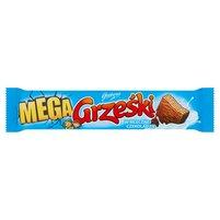 GRZEŚKI Mega Wafel przekładany kremem kakaowym w czekoladzie mlecznej