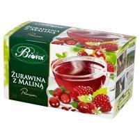 BIFIX Premium Żurawina z maliną Herbatka owocowa (20 tb.)