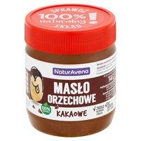 NaturAvena Masło orzechowe kakaowe