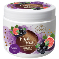 OVOC Maska do włosów Figa i Jagoda Acai