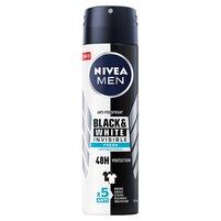 NIVEA MEN Invisible for Black & White Fresh 48h Antyperspirant w sprayu