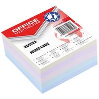 OFFICE PRODUCTS Kostka Karteczki klejone 85x85x40mm Mix kolorów