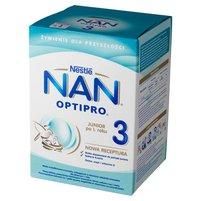 NAN OPTIPRO 3 Mleko modyfikowane w proszku dla dzieci po 1. roku (2 szt.)