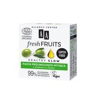 AA Fresh Fruits pasta peelingująco-myjąca z olejkiem z oliwki ORGANIC