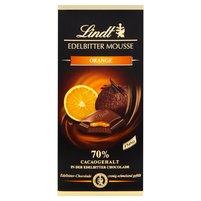 LINDT 70% Gorzka czekolada nadziewana musem i nadzieniem pomarańczowym