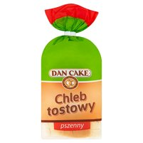 DAN CAKE Chleb tostowy pszenny