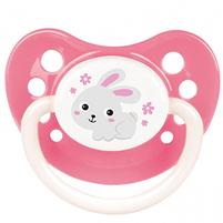 CANPOL BABIES Smoczek silikonowy anatomiczny Bunny&Company 0-6m