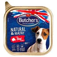 BUTCHER'S Natural & Healthy Karma dla dorosłych psów pasztet z wołowiną