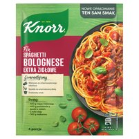 KNORR Fix spaghetti bolognese extra ziołowe