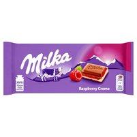 MILKA Czekolada mleczna Raspberry Creme