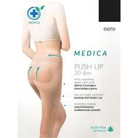 GABRIELLA Medica Push Up Rajstopy nero roz. 5