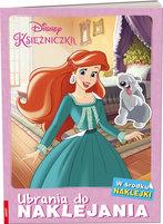 AMEET Disney Księżniczka. Ubrania do naklejania (okładka miękka)