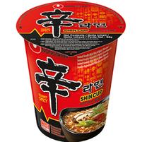NONGSHIM Shin Cup Noodle Soup Danie z makaronu pszennego