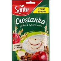 SANTE Pełne Ziarno Owsianka z jabłkiem i cynamonem