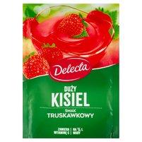 DELECTA Duży kisiel smak truskawkowy