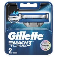 GILLETTE Mach3 Turbo Wymienne ostrza
