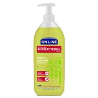 ON LINE Mydło w płynie limonkowe z naturalnym czynnikiem antybakteryjnym