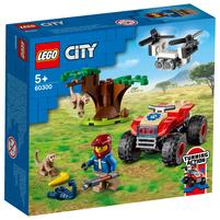 LEGO City Quad ratowników dzikich zwierząt 60300 (5+)