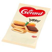 DR GERARD Juppi Biszkopty z nadzieniem o smaku morelowym i z polewą kakaową