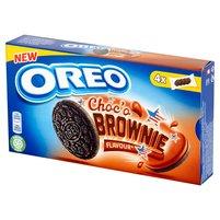 OREO Ciastka kakaowe z nadzieniem o smaku ciasta Brownie (4 sasz.)