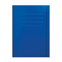 ECO+ Teczka Z Gumką A4 Niebieska