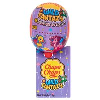 CHUPA CHUPS Wild Fantazy Lizak o smaku truskawkowym