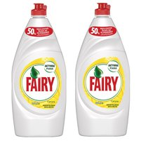 FAIRY Lemon Płyn do mycia naczyń (2 x 900 ml)