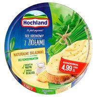 HOCHLAND Ser kremowy w trójkącikach z ziołami (8 sztuk)