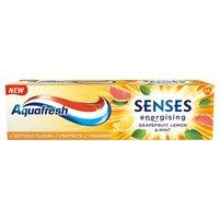 AQUAFRESH Senses Energising Grapefruit Lemon & Mint Pasta do zębów z fluorkiem