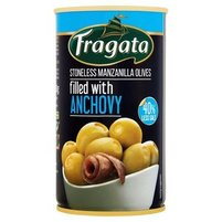 FRAGATA Oliwki zielone nadziewane anchois