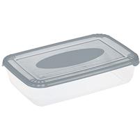 PLAST TEAM Polar Pojemnik do żywności 0,9L szary