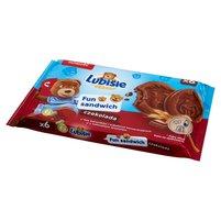 LUBISIE Fun Sandwich Ciastka biszkoptowe czekolada (6 sztuk)