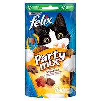FELIX Party mix Original Mix Przekąska o smaku kurczaka wątróbki i indyka