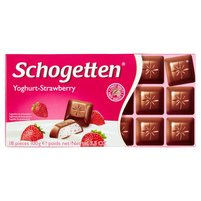 SCHOGETTEN Yoghurt-Strawberry Czekolada