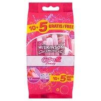 WILKINSON Sword Extra 2 Beauty Jednoczęściowe maszynki do golenia